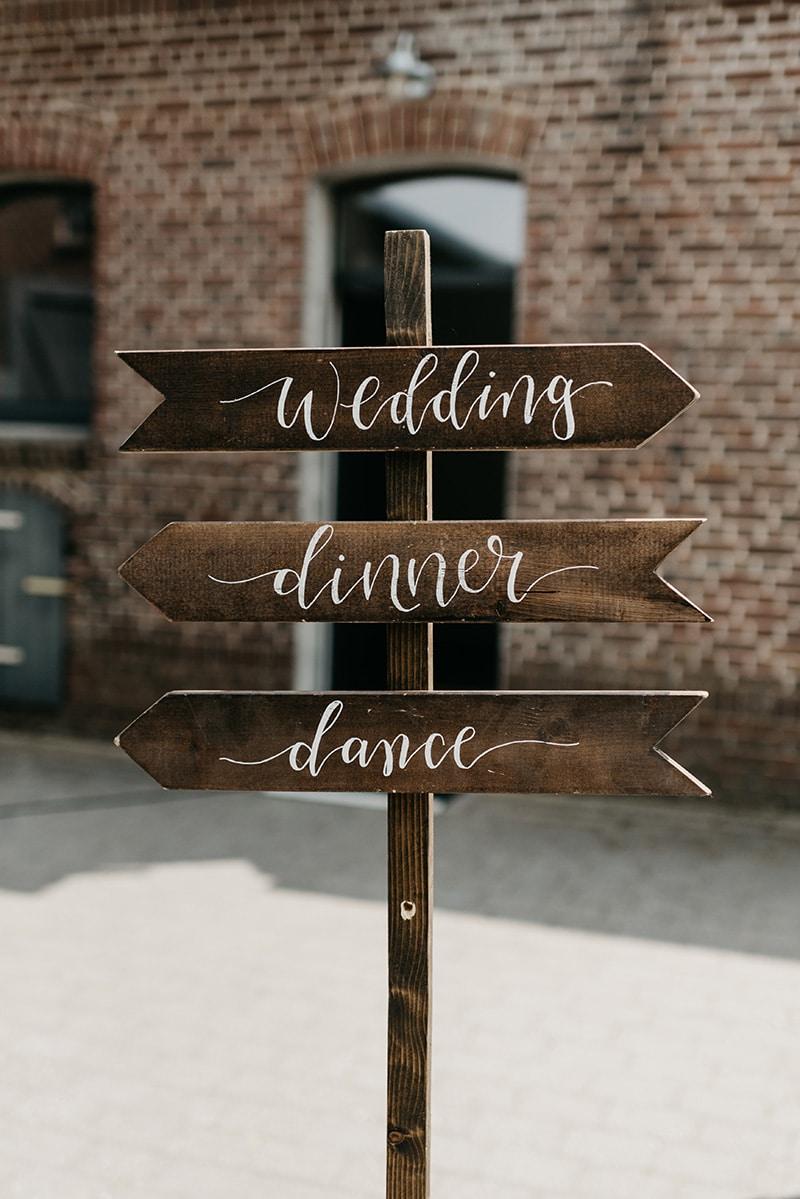 Decoratie voor bruiloft