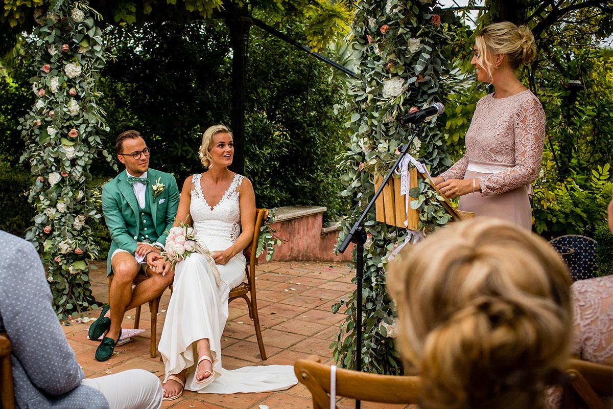 ceremonie in de openlucht