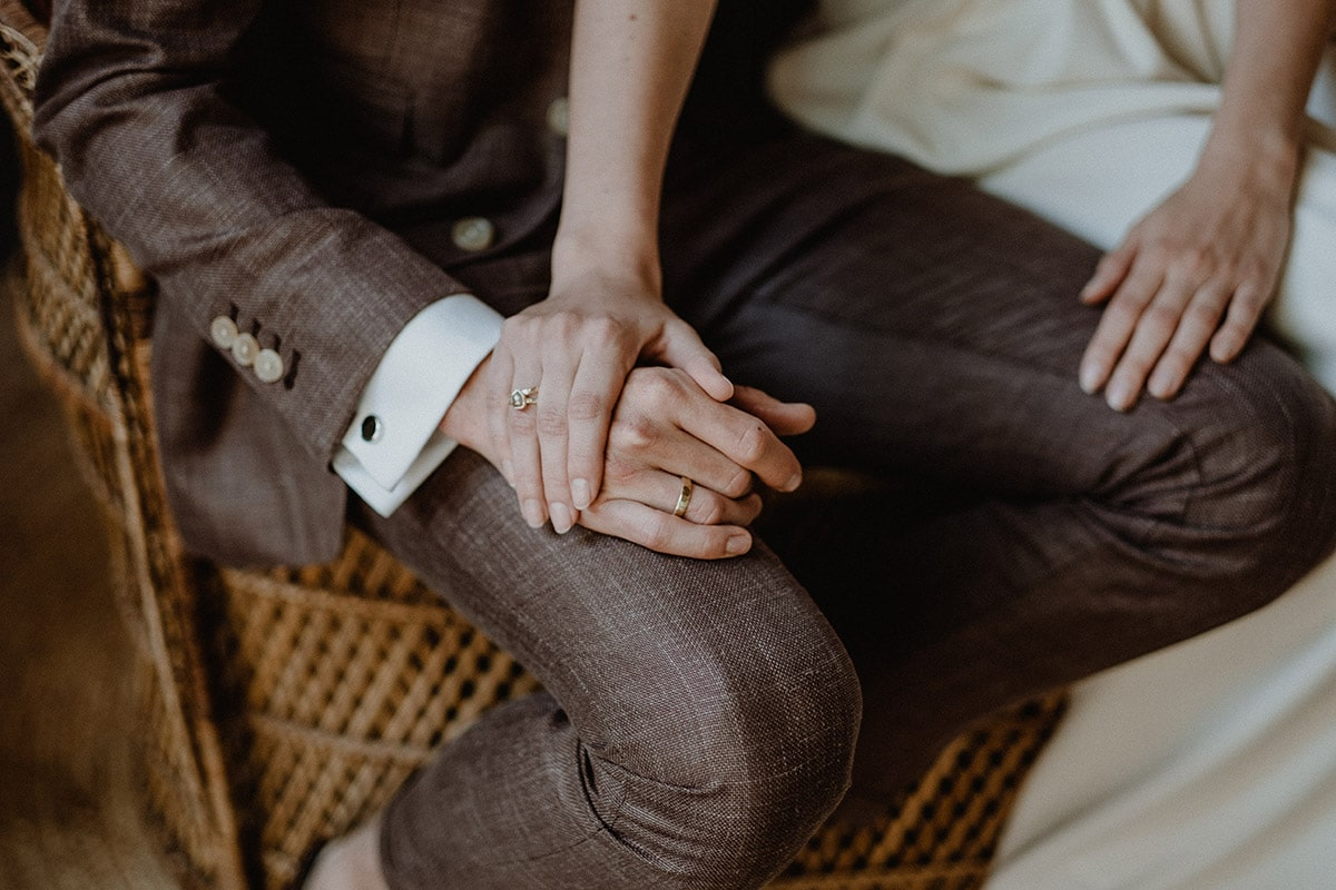 Rustic trouwpak