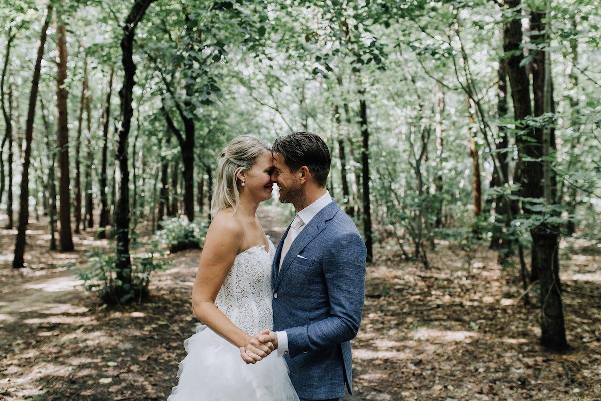 Kusmoment, Huwelijk in het bos, liefde