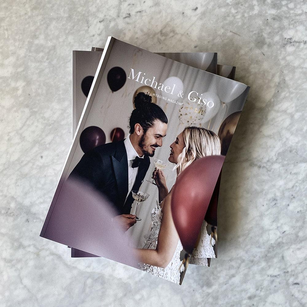 Trouwmagazine Michael & Giso
