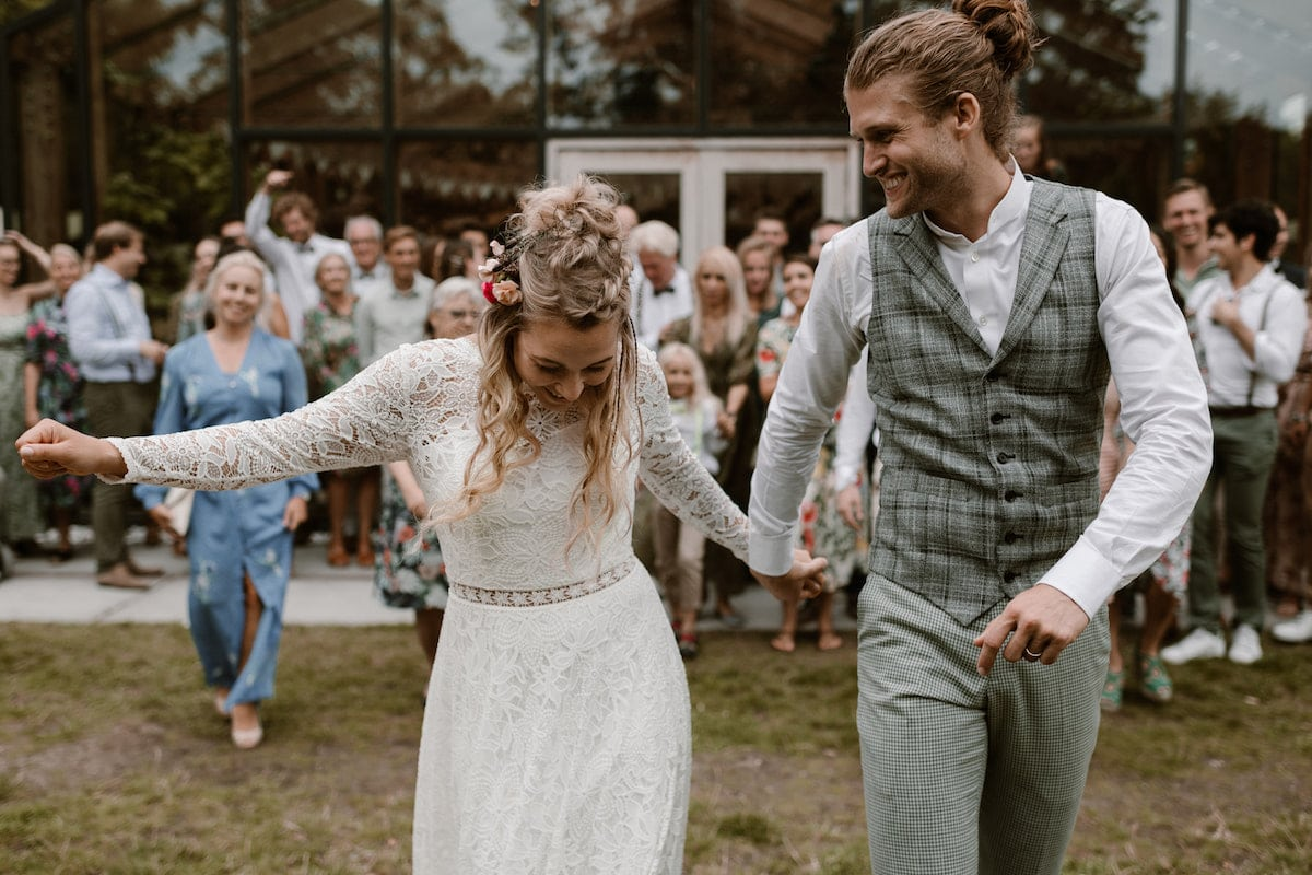 Dansen op een Trouwfeestje