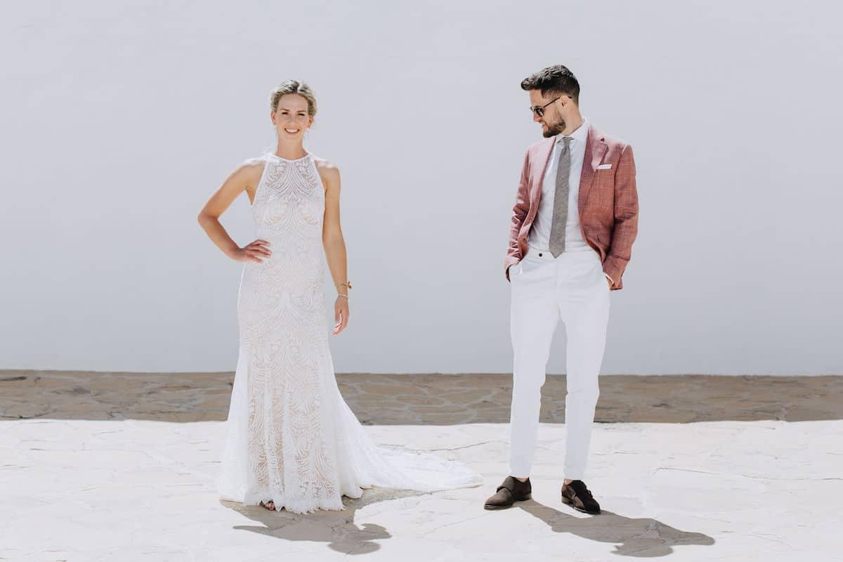 Sprezza 2 delig look met bruid