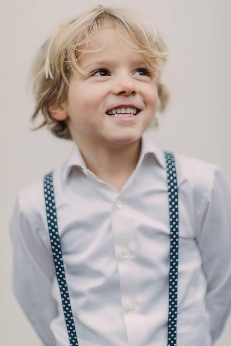 Bohemian outfit zoon, kinderbretels, Overhemd op maat voor kinderen