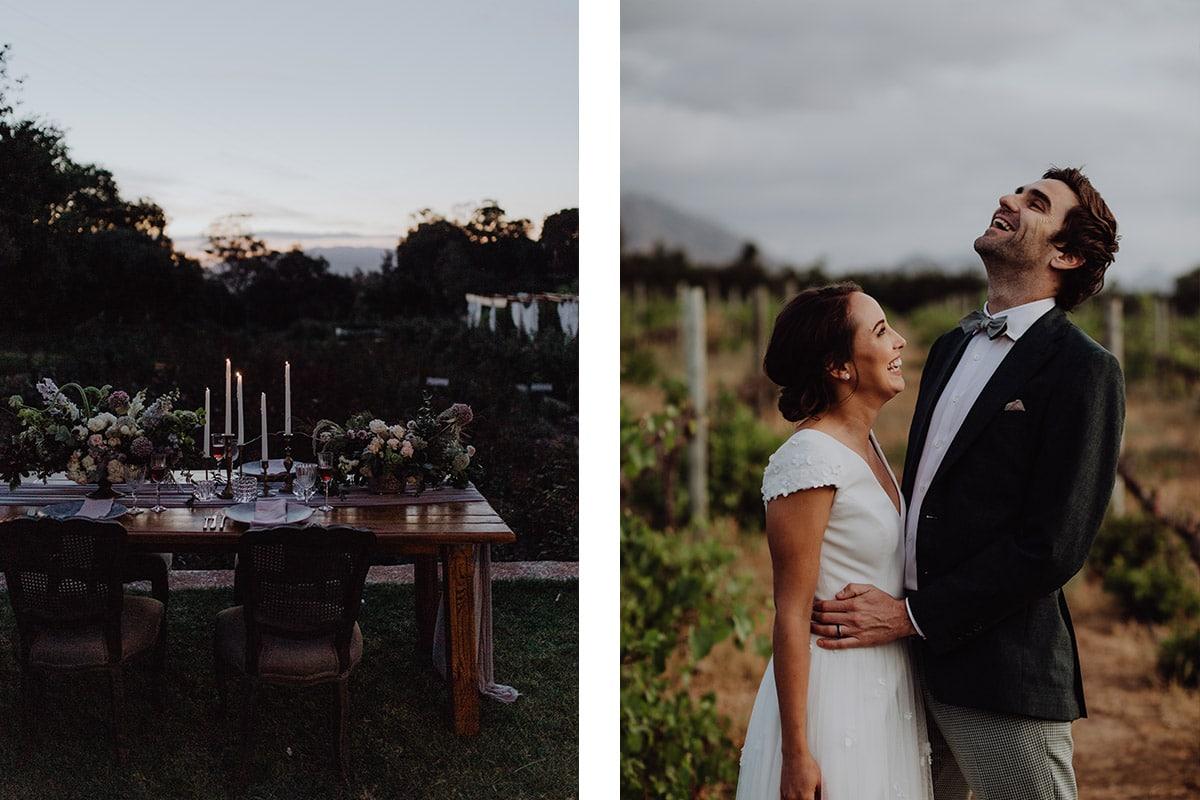 Zuid-Afrika bohemian bruiloft