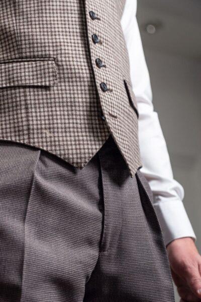 Lora waistcoat detail