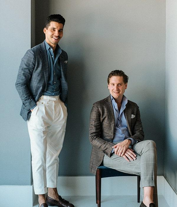 Michael Oei & Rolf-Giso Heijkoop