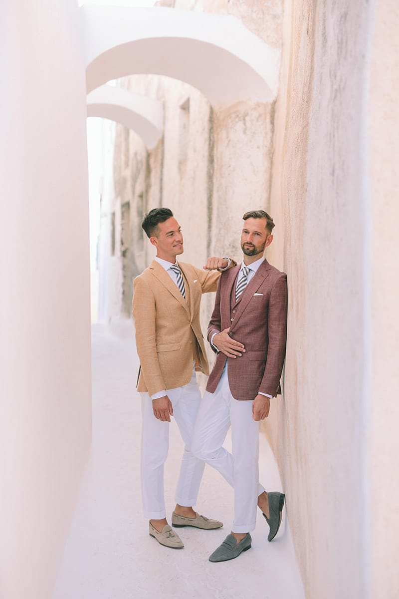 Voorbereidingen op gaywedding