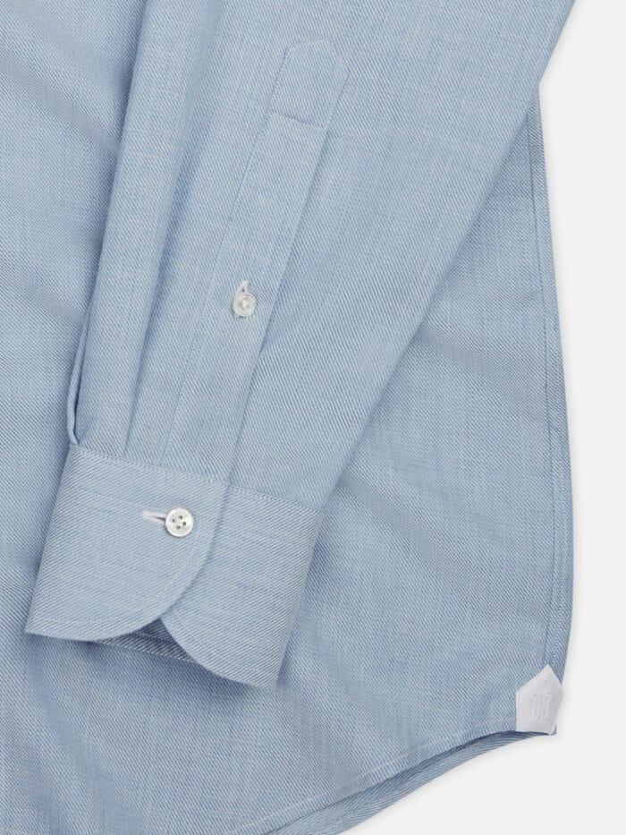 Overhemd op maat Lichtblauw