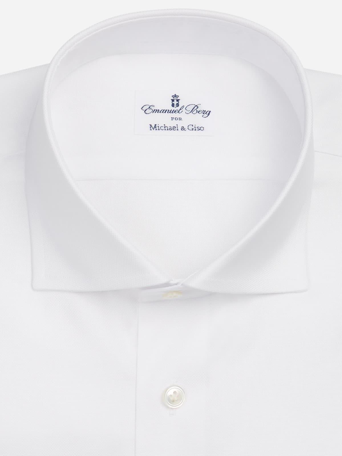 wit shirt op maat