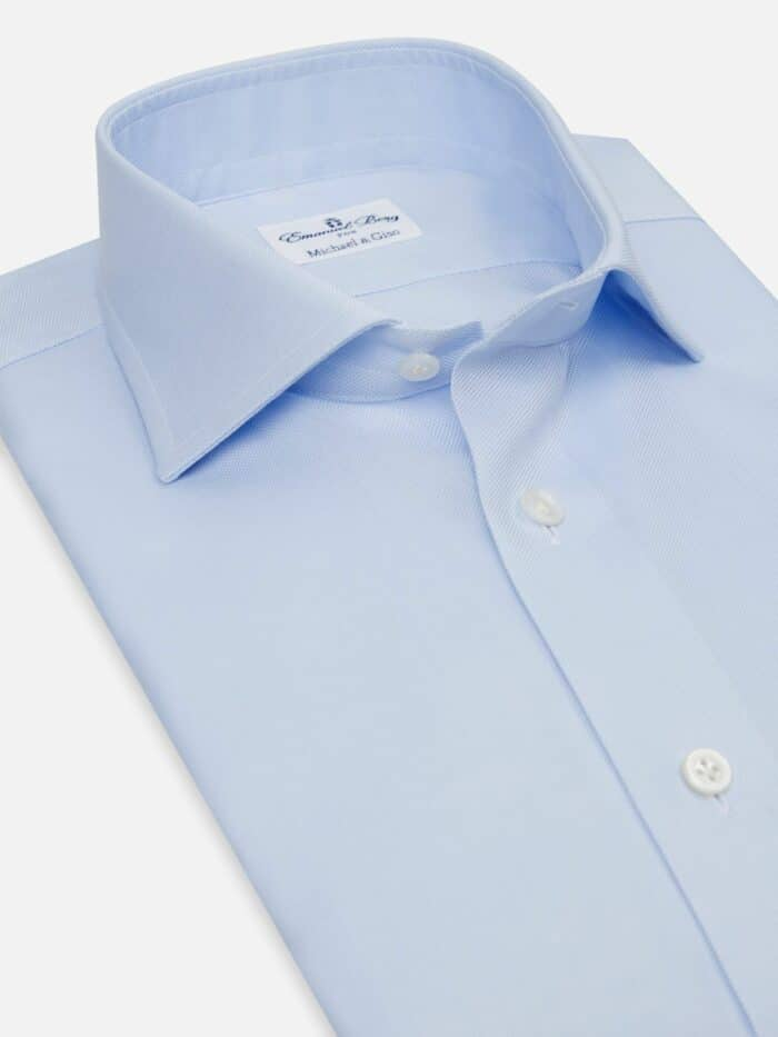 Lichtbaluw overhemd heren