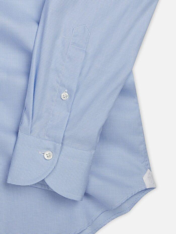 mouw palemo klein geruit shirt
