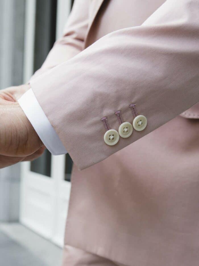pastel roze blazer