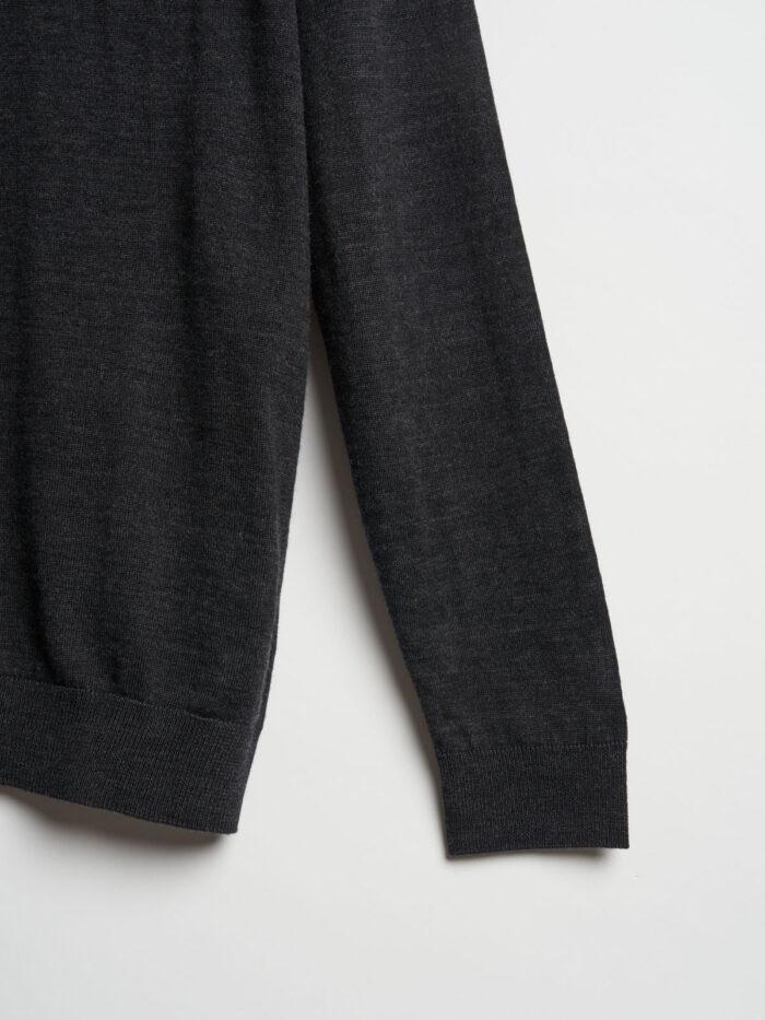 antraciet knitwear