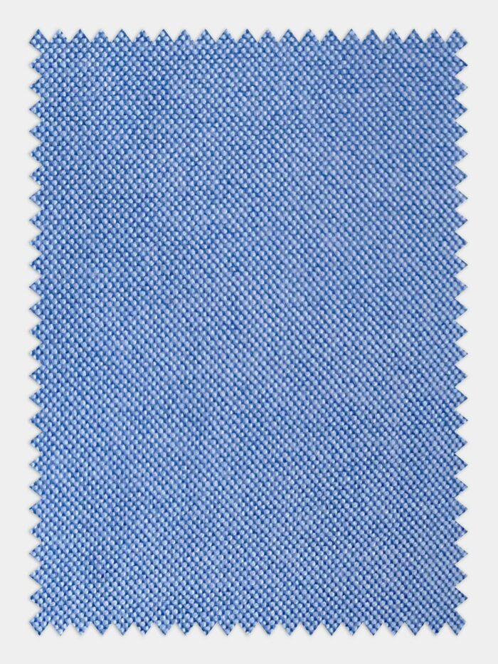 katoenen blauw stof