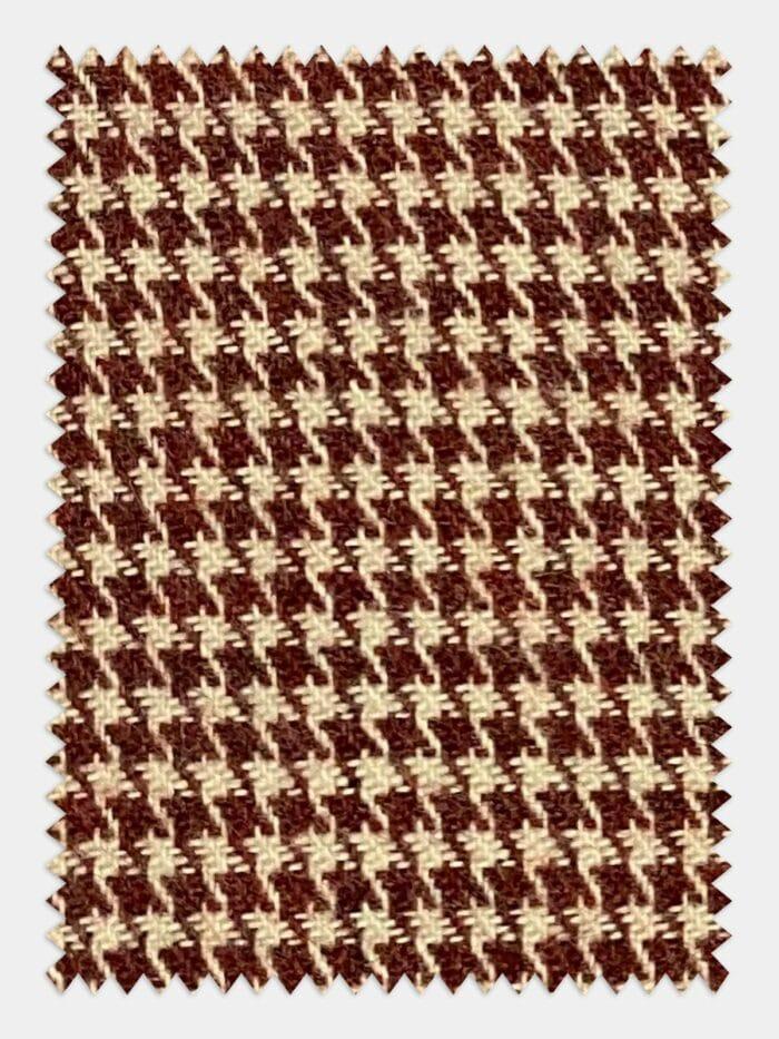 flannel pied de poule print