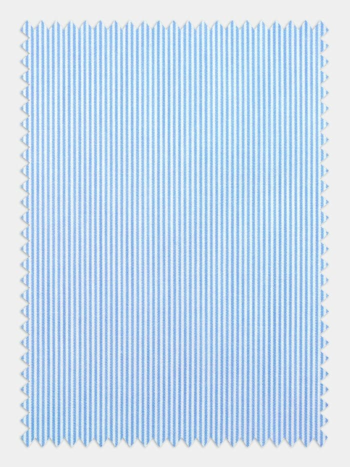 poplin kleine ruit lichtblauw