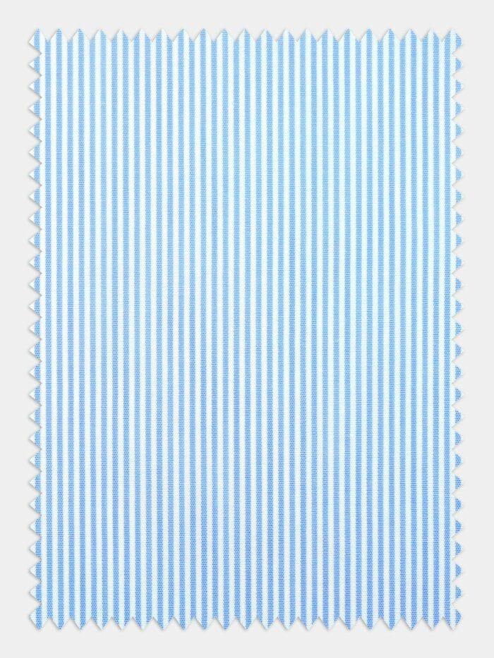 lichtblauw wit streepstof