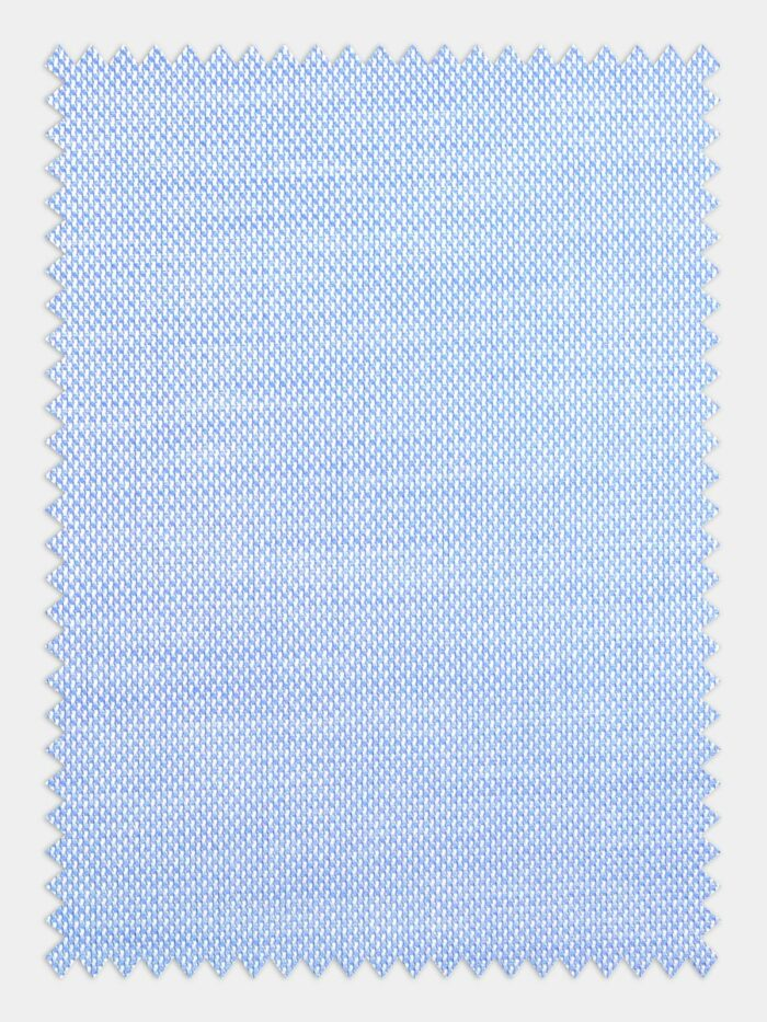 licht blauw oxford stof