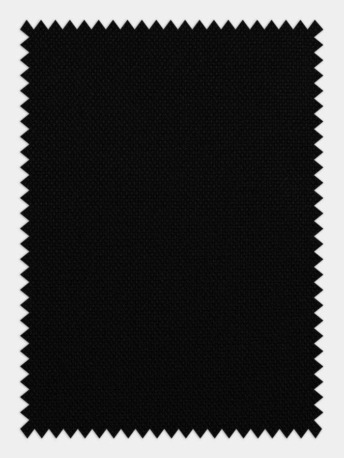 zwarte stof voor maatshirt