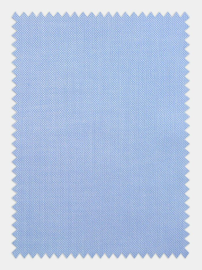 oxford sky blue stof voor maatshirt