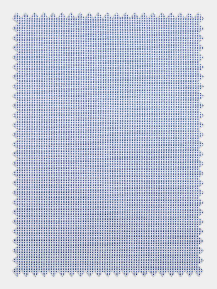 oxford blue stof kleine ruitjes