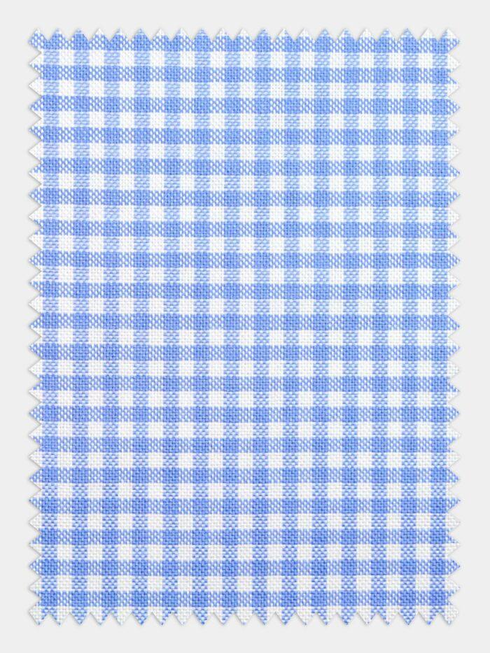 oxford blauw wit grove ruit