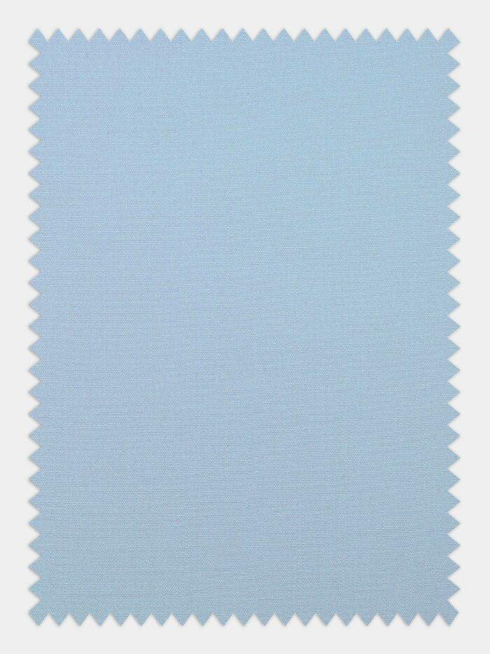 anti kreuk stof licht blauw
