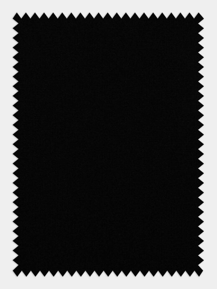 anti kreuk stof zwart
