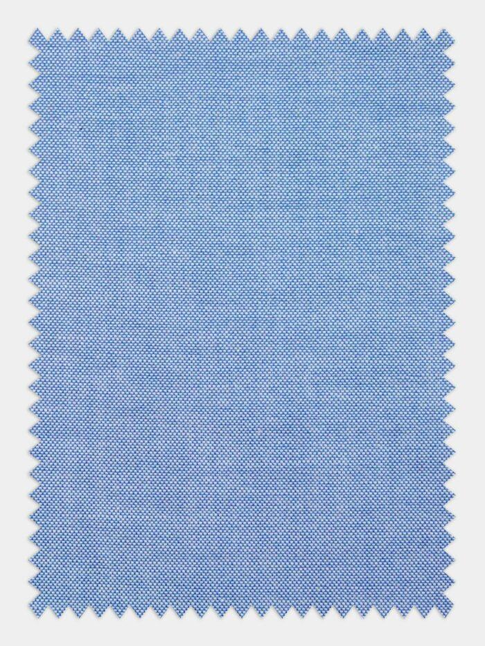 sky blue anti kreukel stof