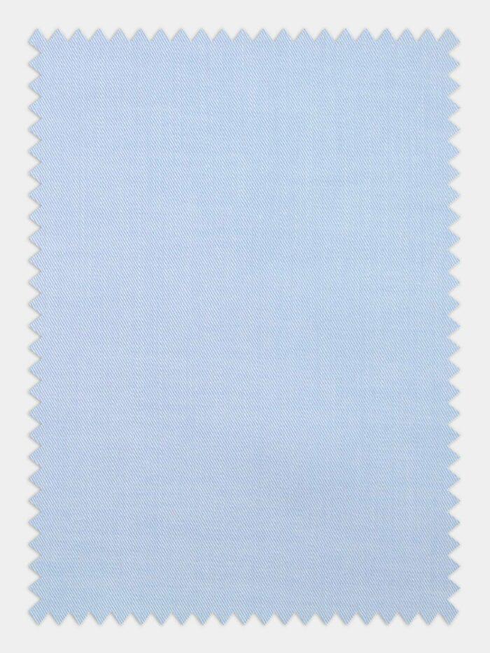 twill licht blauw wrinkel resistant