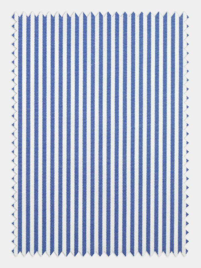 pin point blauw steep stofje