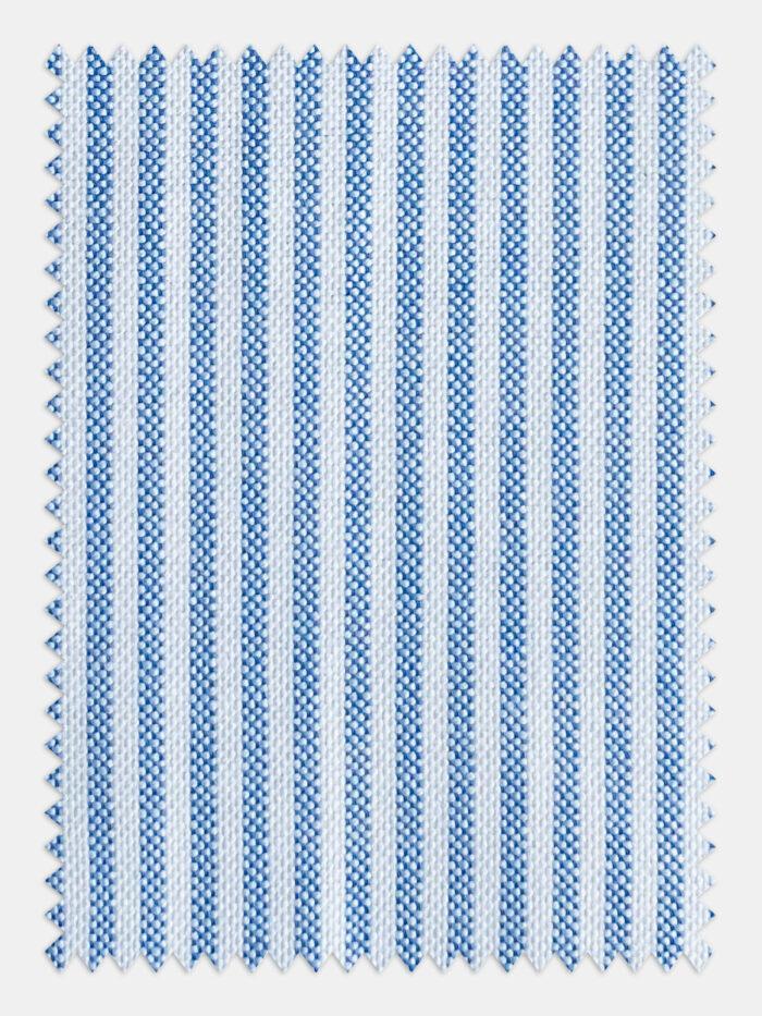 blauw wit stofje