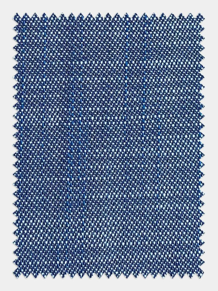 jeans blauw stof