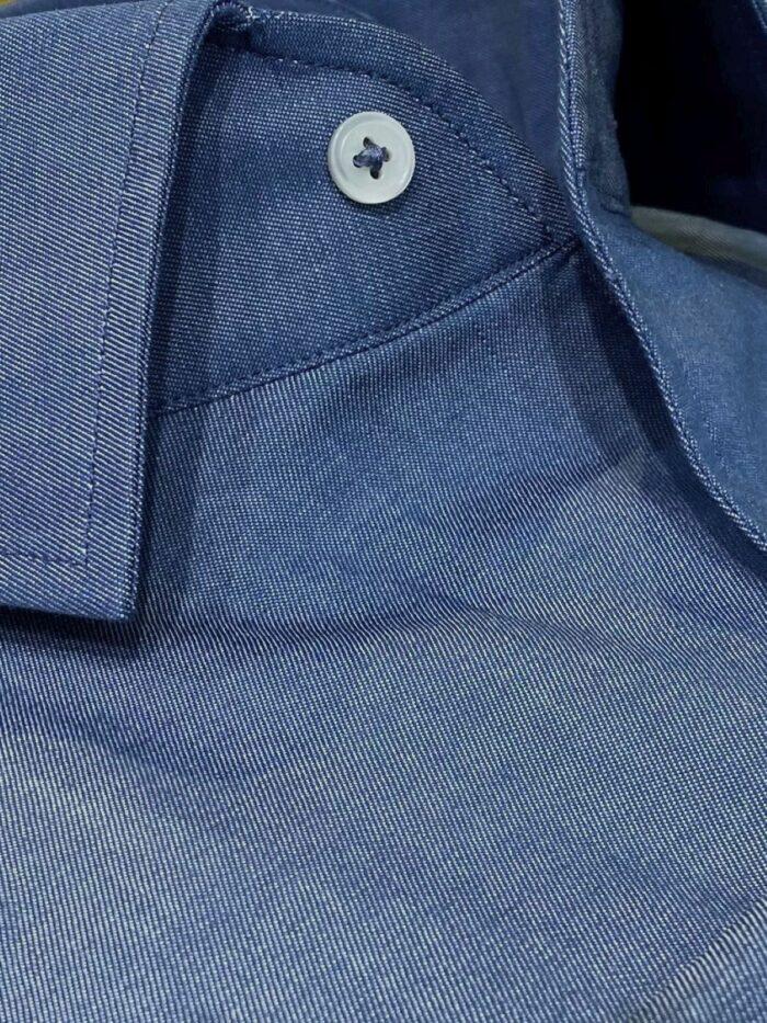 katoenen jeans overhemd op maat