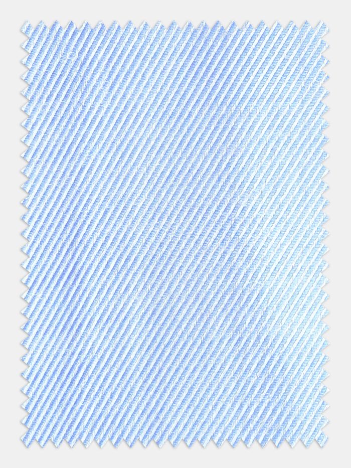 licht blauw streepjes stof