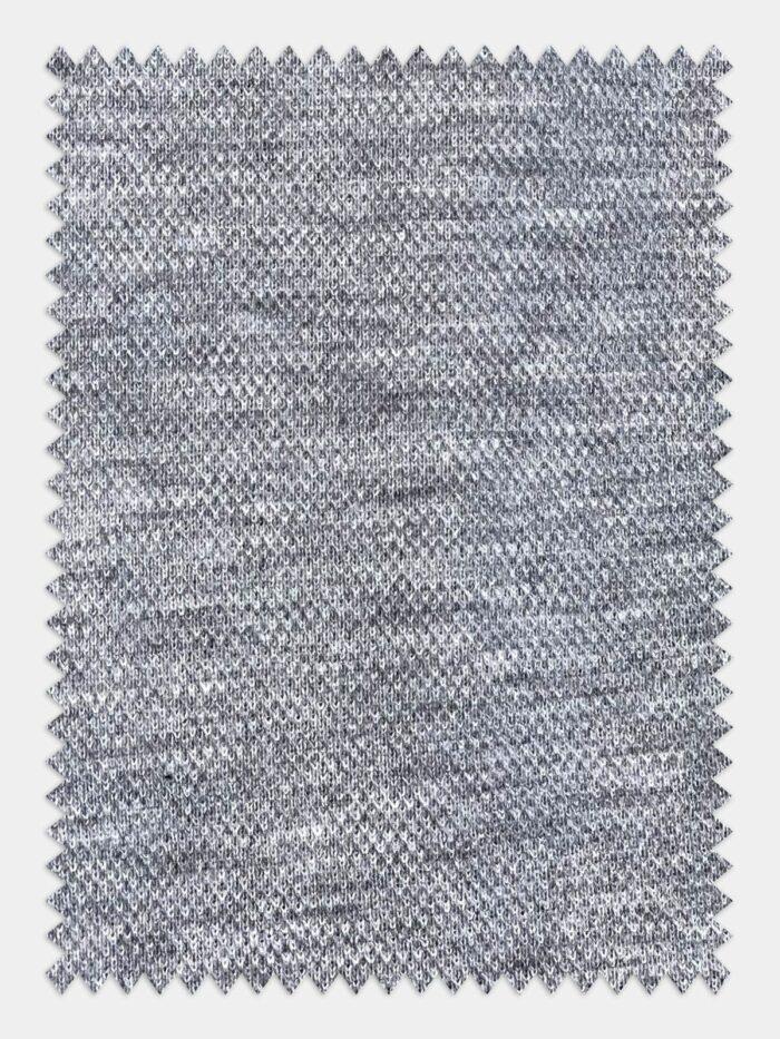 grijs gemeleerd stof maatshirt