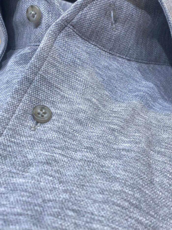 grijs gemeleerd shirt