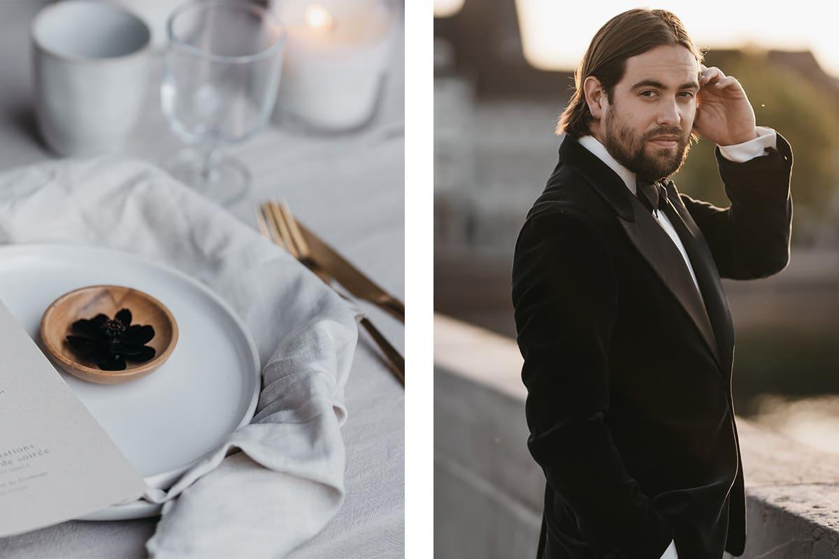 smoking voor franse bruiloft