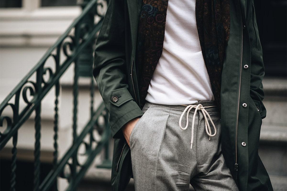 touwtjes pantalon