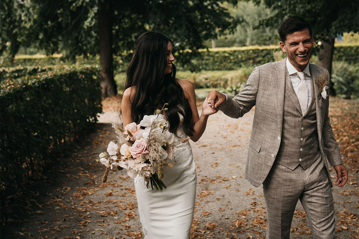 zomerse bruiloft