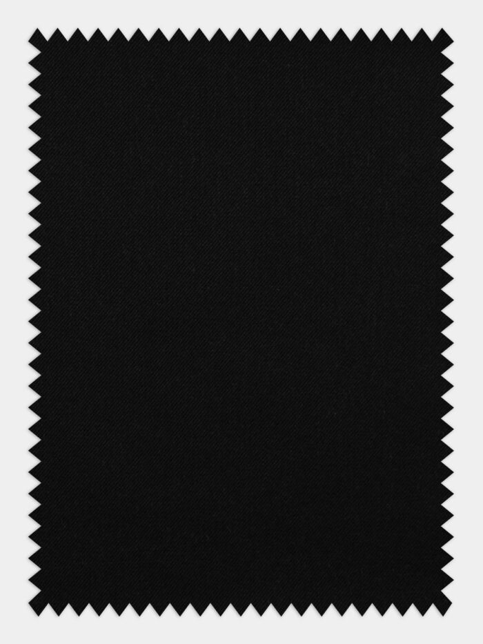 zwarte twill stof