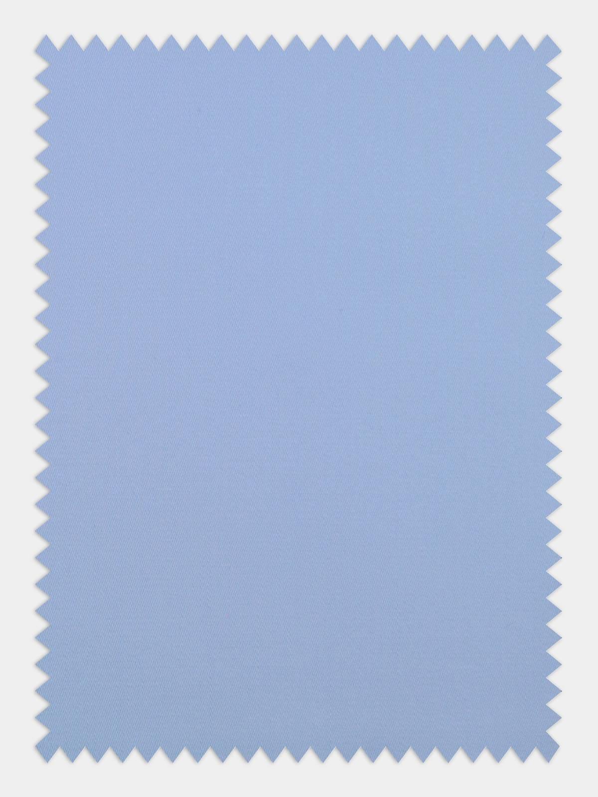 licht blauw satijn stofstaaltje
