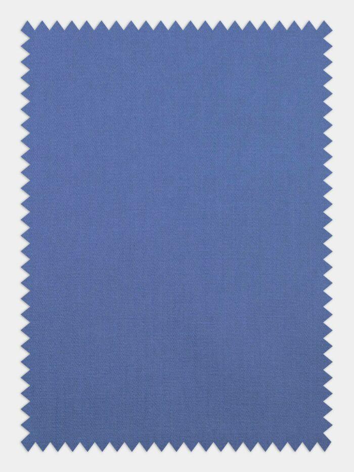 blauw satijn voorbeeld stofstaaltje