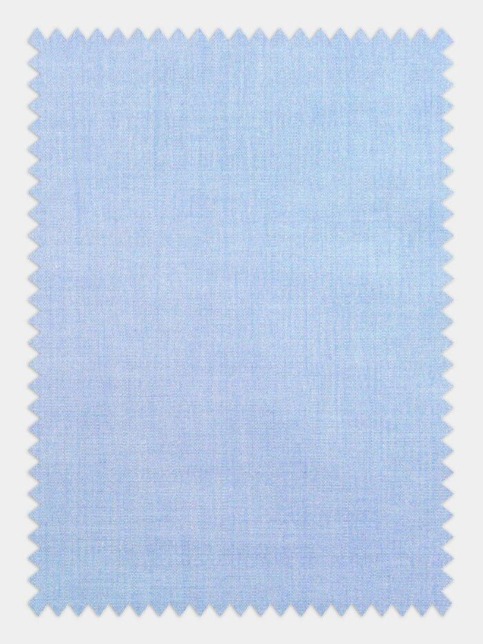 licht blauwe poplin stof