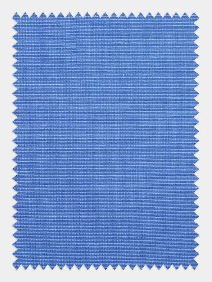 poplin stof medium blauw