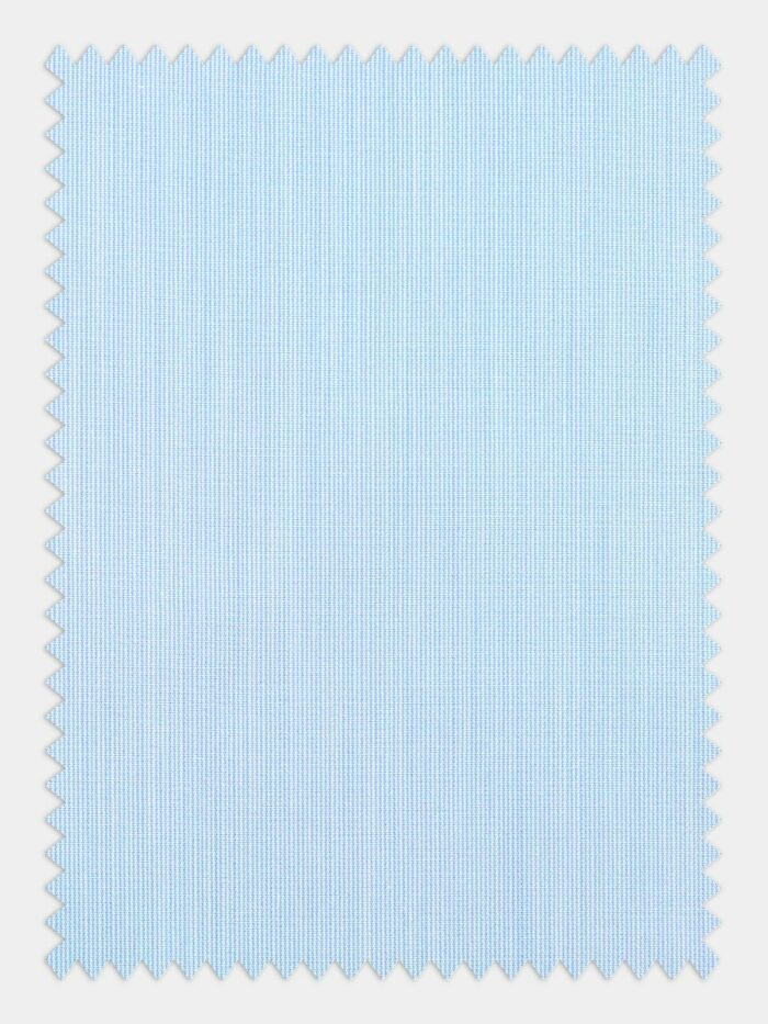 pastel blauw poplin