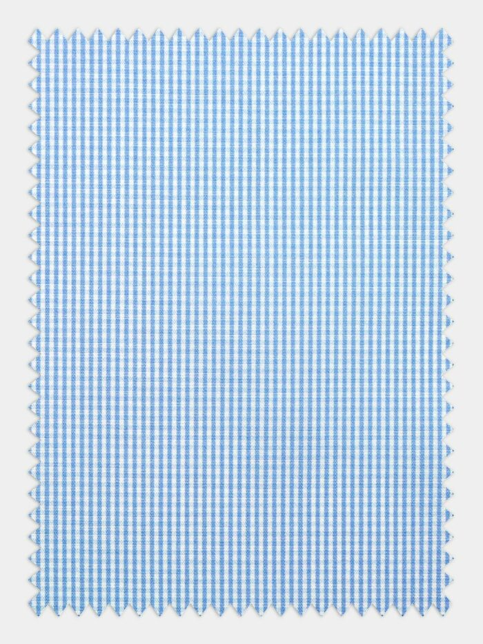 stof kleine ruitjes licht blauw wit