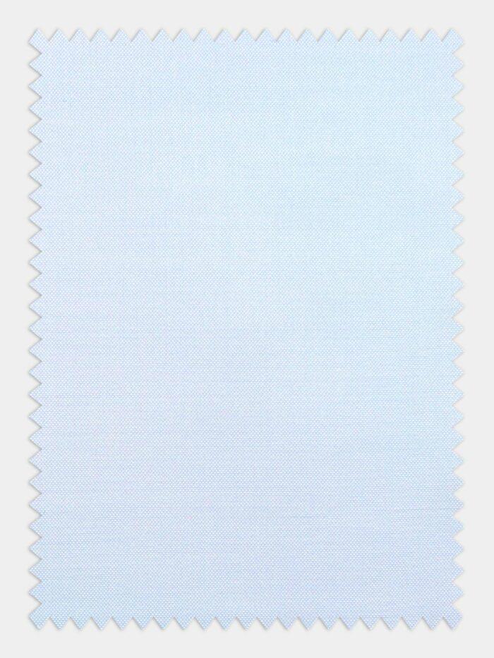 pastel blauw pin point stof