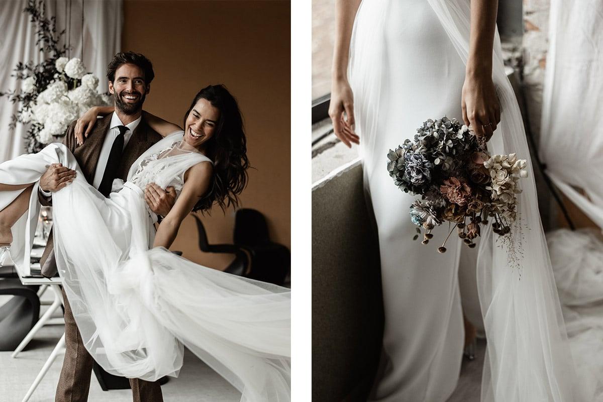floral wedding thema